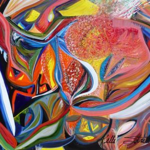"""In Bloom, 2010 Oil on canvas 24"""" x 36"""" x 1.5"""""""