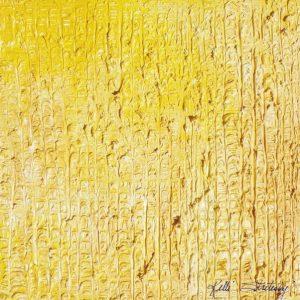 "Sunbeam, Color Block, 2009 Oil on canvas 10"" x 10"" x 1.5"""
